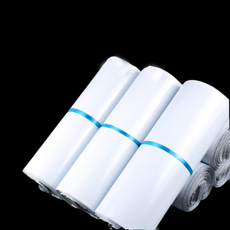 Mail Packaging Poly Mailer Package Shipping Plastic Mailing Bag By Envelope Courier White Wholesale Bulk Self Adhesive Supplies in Storage Bags from Home Garden