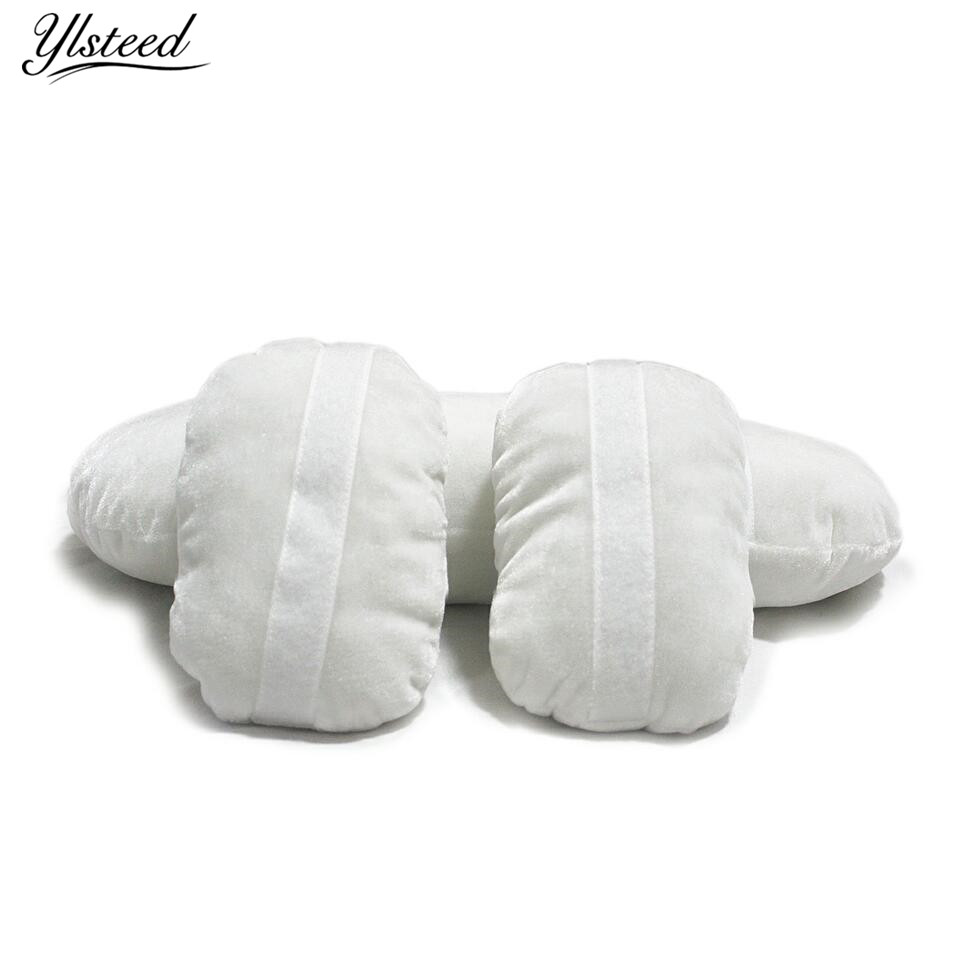 3 PCS/Set Newborn Posing Photography Props Baby Posing Pillow Newborn Positioner Accessories Baby Cushion Pillow Basket Filler недорого