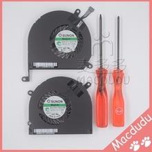 """Marca nuevo ventilador de la cpu para 15 """"macbook pro a1286 mb470 mb985 mc371 2009-2012 con un destornillador"""