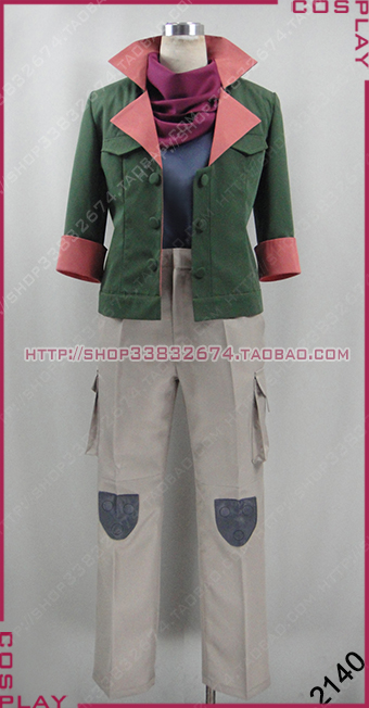 Mobile Suit Gundam Iron-Blooded Orphans Orga Itsuka Suit Set Cosplay Costume S002