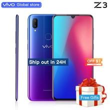 Мобильный телефон celular vivo Z3 Snapdragon 670/710AIE 16MP фронтальная камера LTE Android 8,1 4G/6G + 64G/128G 6,3 «Экран смартфон
