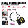 "Dia 5.5mm 2.7"" LCD NTS100 Endoscope Borescope 1M Snake Inspection Tube Camera DVR+Free 18650 Lithium Battery"