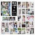 Pacote de Verão ASAS Meninos Bangtan BTS KPOP Álbum LOMO Youpop cartões Cartão HD Photocard K-POP Moda Auto moldura Feita de Papel LK425