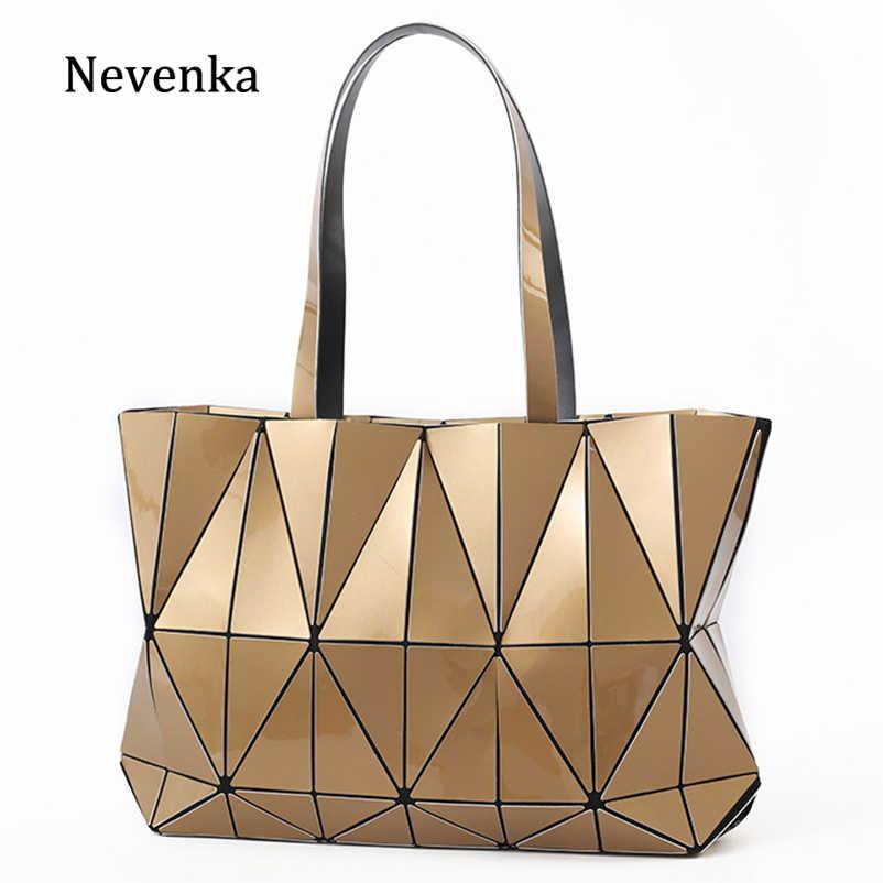 313e20223090 Nevenka Luxury Handbags Women Leather Handbag Female Purses and Handbags  Girls Geometric Totes Luminous Handbags for