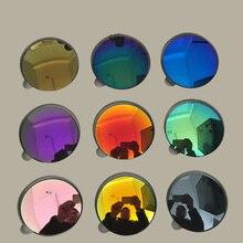 Gafas de sol polarizadas para presbicia, lentes de sol polarizadas con índice asférico 1,56 1,61, graduadas ópticas, para miopía, receta, 2 uds.