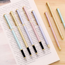 Color Metal Ink Pen Hard Pen Calligraphy Practice Student Supplies Pen School Office Business Writing Pen Stationery The Office portable fountain pen style soft pen beginner s special practice practice pen regular script calligraphy pen available ink sac