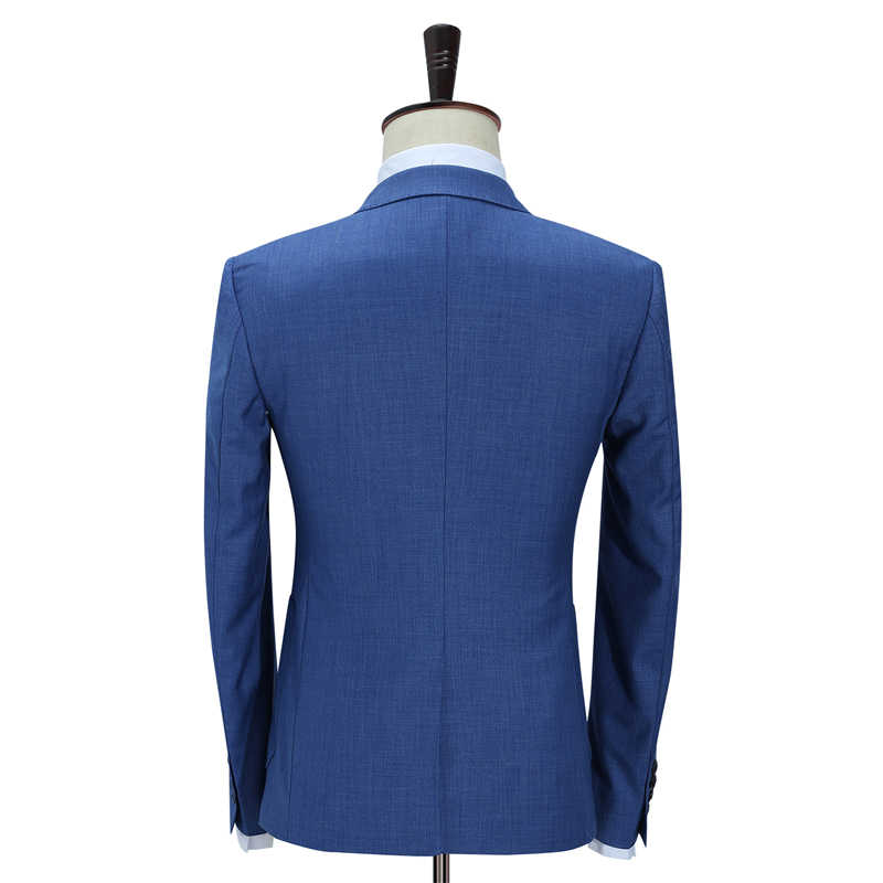... Plyesxale Slim Fit Men Suits For Wedding One Button Dark Blue Light  Blue Mens Formal Suits ... 7c877418e