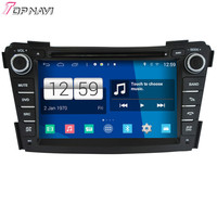 TOPNAVI Quad Core אנדרואיד 4.4 נגן DVD לרכב מולטימדיה S160 ליונדאי I40 רדיו אודיו סטריאו 2DIN ניווט GPS דאש