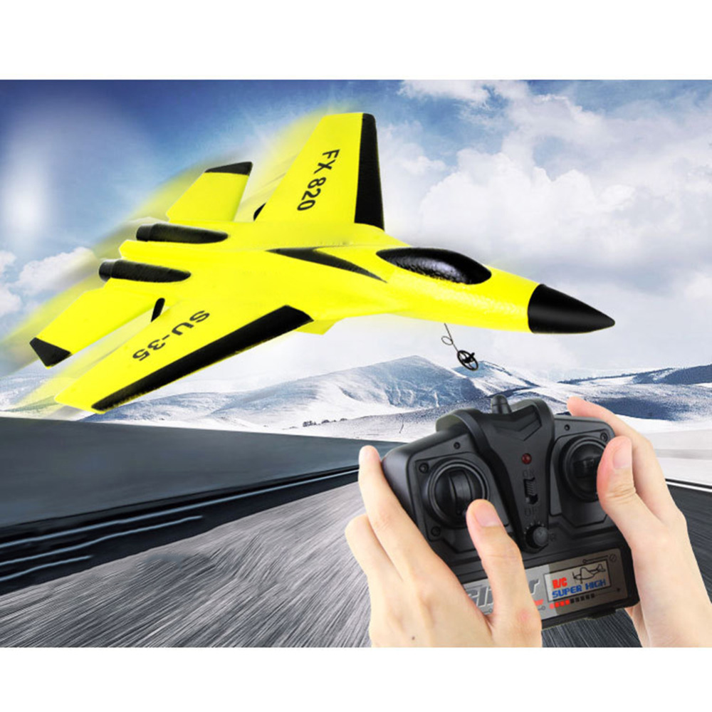 все цены на FX-820 2.4G 2CH Remote Control SU-35 Glider 290mm Wingspan EPP Micro Indoor RC Airplane Aircraft RTF Paper RC Dron