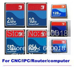 100% Industry Memory  Compact Flash CF Card 128MB 256MB 512MB 1GB 2GB Memory Card Price For CNC IPC ROUTER PRINTER 20PCS/LOT
