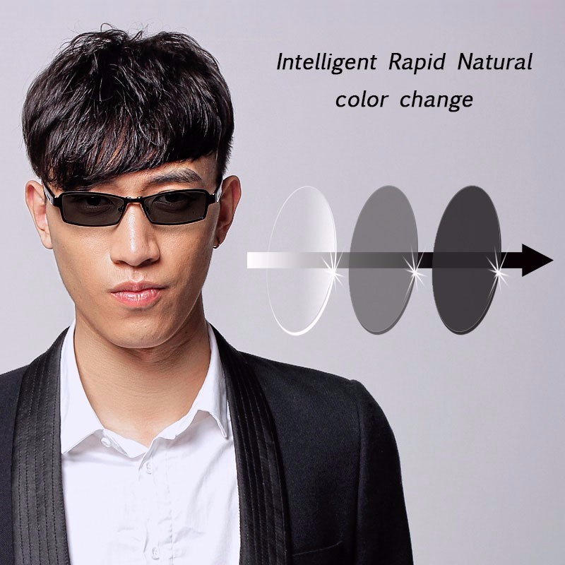 1.56 Photochromic Gray or Grown Single Vision Lens SPH Range -7.00~+7.00 Max CLY -4.00 Optical Lenses for Eyewear