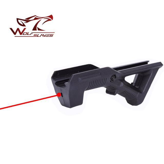 Wolfslaves AFG Laser Grip Accessories 20-21mm Guide Rail for Nerf Toy Gun  Grip CS