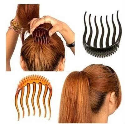 2018 Hot fashion peng song ma plate inserted end development tools Punta wedding hair comb jewelry accessories free shipping
