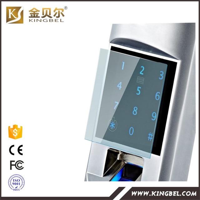 Latest High quality security fingerprint glass door china digital lock HD - Awesome high security door locks New