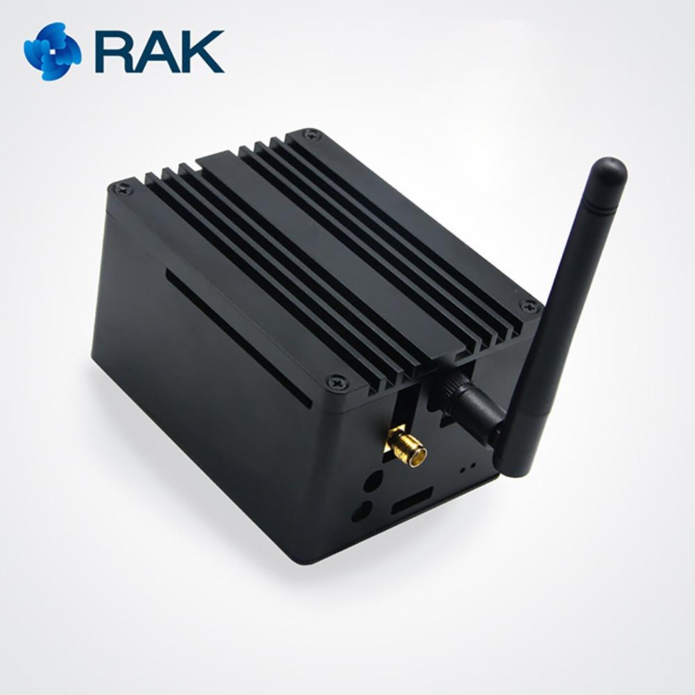 RAK831 Lite Passerelle Développeur Kit Framboise Pi3 SX1301 LoRaWan Module Passerelle avec GPS Lora Antenne pour Démonstration PoC Q110
