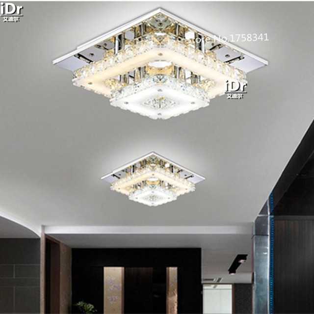 k9 kristal slaapkamer lamp hal lampen restaurant led kroonluchters, Deco ideeën