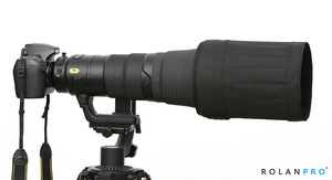 Image 3 - ROLANPRO Lens Hood for Canon 600mm f/4 IS II III USM SLR Telephoto Lens Folding Hood Light Weight Foldable Wear resistant Hood