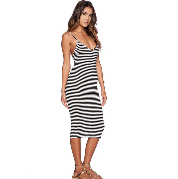 Aliexpress.com : Buy S.T Striped And Backless Sexy Tight Summer ...