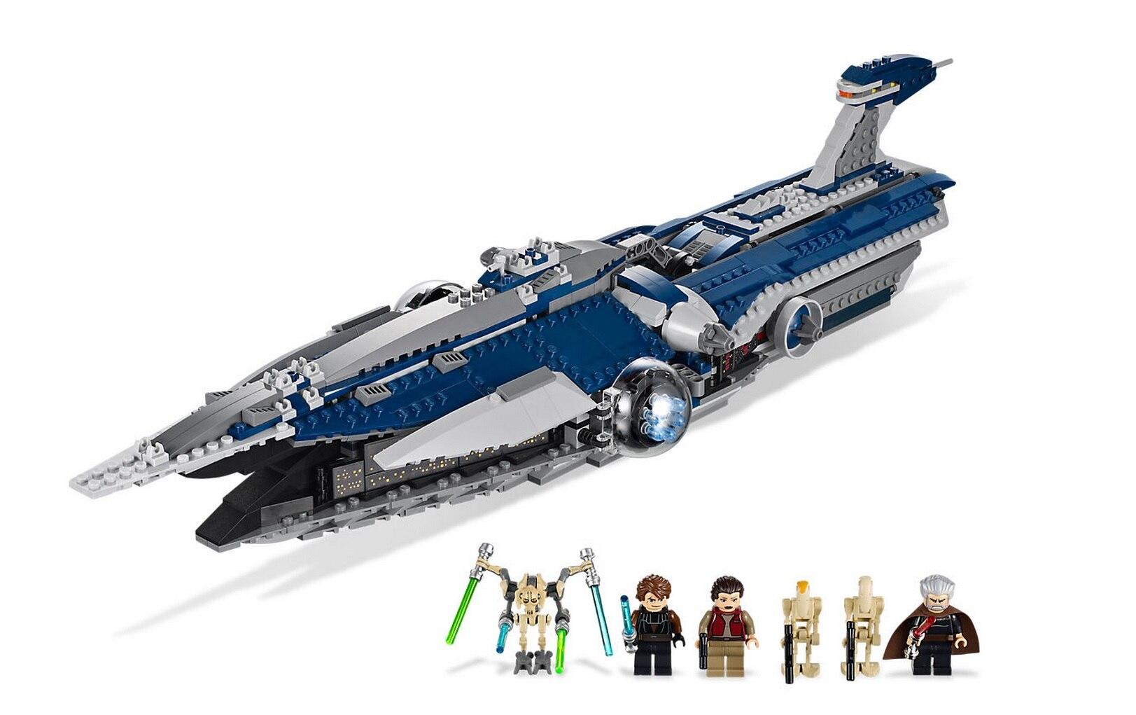 05072 Series The Limited Edition Malevolence Warship Set Children Building Blocks Bricks Boy`s Toys Model 9515 bricks