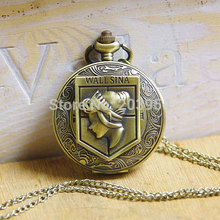 Attack on Titan Antique Charm Wall Maria Sina brass 10pcs/lot big size Pocket
