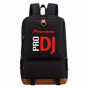 Image 2 - Рюкзак WISHOT Pioneer DJ PRO, дорожная школьная сумка на плечо, сумка для книг для подростков, повседневные сумки для ноутбука