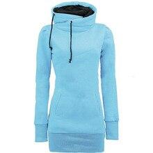 Sisjuly women hoodie sweatshirt solid hooded long sleeve pullover hoodies drawstring plus size fashion female autumn hoodie hot