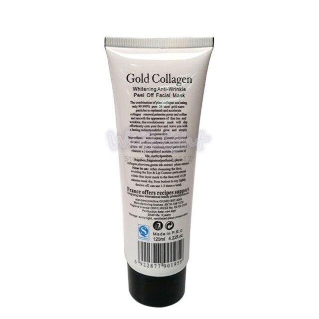 100% Original 24K golden mask Anti wrinkle facial mask for face care tighten skin, whitening face masks for face lifting firming 3
