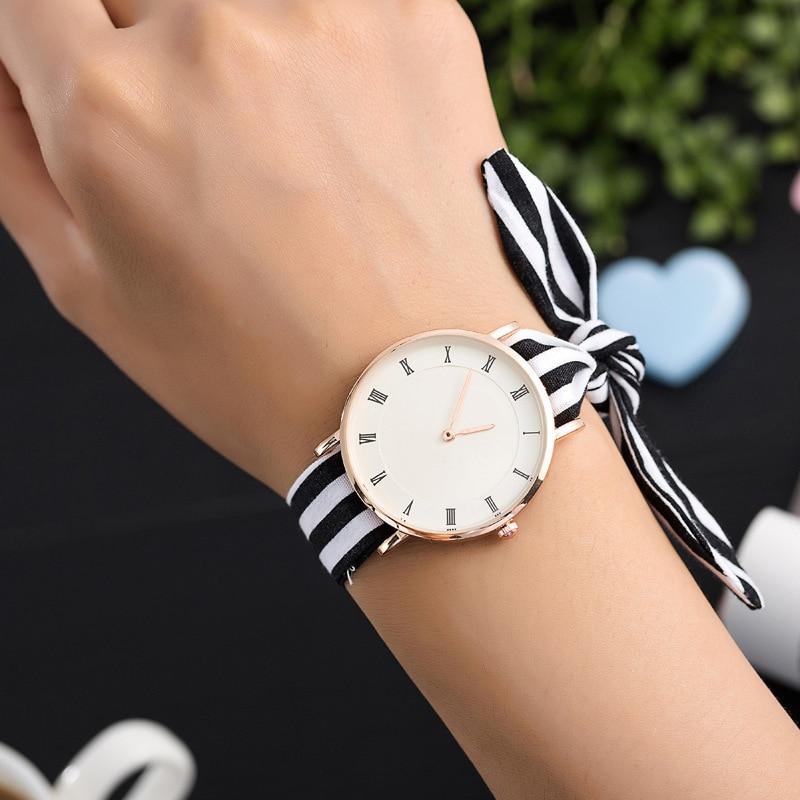 BAJEETA Roman Style Fashion Women Bracelet Watch Casual Beach Quartz Wristwatch Hot Sale Super-thin Dress Watches Dropshipping