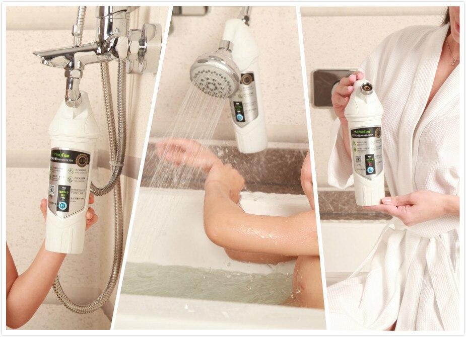 duş suyu filtri xrom bitmiş duş başlığı, dəriyə qulluq - Ev əşyaları - Fotoqrafiya 3