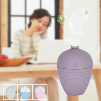 Ultrasonic Humidifier Car USB Aromatherapy Oil Diffuser Mist With LED Night Light Essential Oil Diffuser Waterless