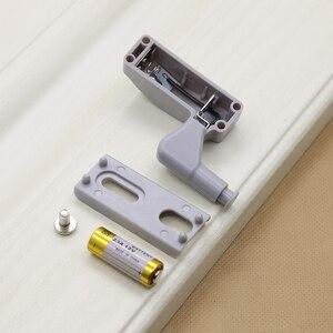 Image 3 - 캐비닛 힌지 led 센서 라이트 자동 스위치 옷장 내부 힌지 램프 야간 조명 침실 옷장 주방 찬장