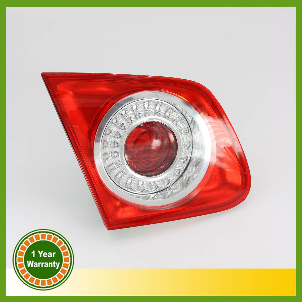For VW Jetta 5 2005 2006 2007 2008 2009 2010 2011Rear Tail Light Lamp Left Side Inner Left-hand Trafic Only free shipping for skoda octavia sedan a5 2005 2006 2007 2008 left side rear lamp tail light