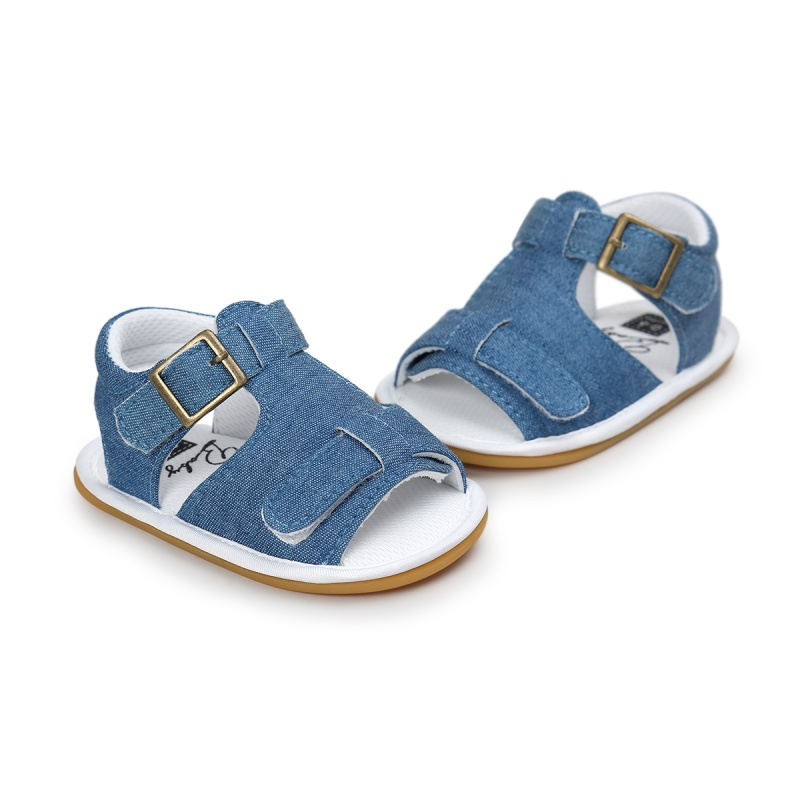 Kids Toddler Baby Boys Girls Breathable Sandals Anti Slip Crib Shoes Beach Shoes