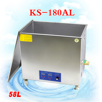 1PC 58L KS 180AL 1080W Stainless steel Cleaning Machine Ultrasonic Cleaning Machine washing Jewelry Eyeglasses Watch