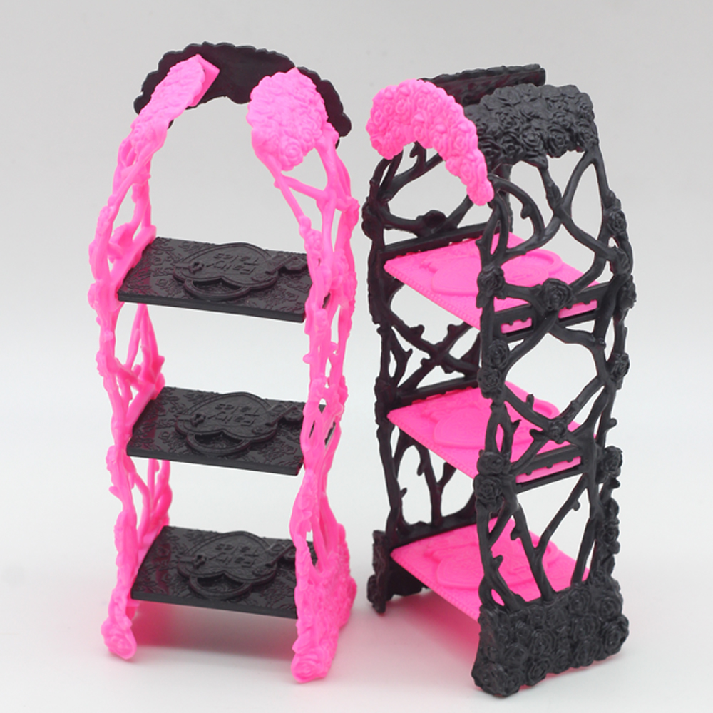 Kids Playhouse Shoes Rack For Barbie Doll Storage Racks For Monster High  Dolls Furniture  In Hair Clips U0026 Pins From Beauty U0026 Health On  Aliexpress.com ...