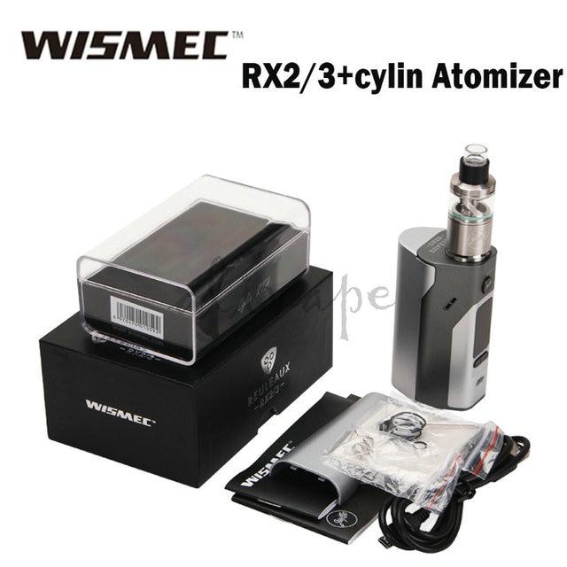 Оригинал Wismec Reuleaux RX2/3 TC 150 Вт/200 Вт Коробка Мод Подходит для Wismec Цилиндрической Танк 3.5 мл ПРОТИВ RX200S RS200