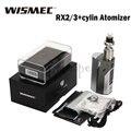 Original Wismec Reuleaux RX2/3 TC 150 W/200 W Caixa Mod Apto para Wismec Cilindro Tanque 3.5 ml VS RX200S RS200