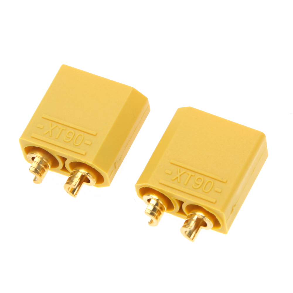5 Pairs XT30 XT60 XT90 Yellow Battery <font><b>Connector</b></font> Set <font><b>4.5mm</b></font> Male Female Gold Plated Banana Plug image
