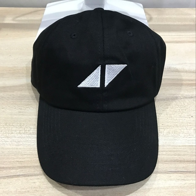 609aaf8ece6 DJ Avicii dad hat Black cotton adjustable hip hop baseball cap-in ...