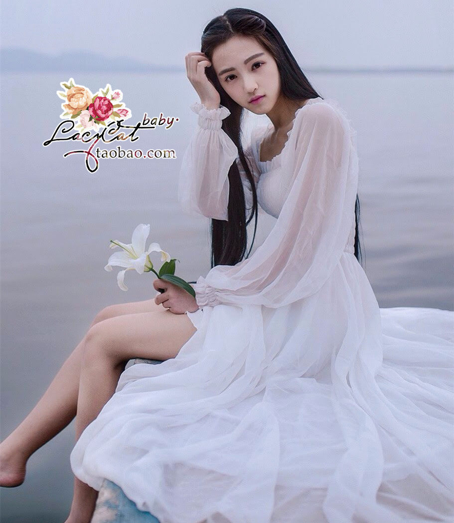 robe en satin longue