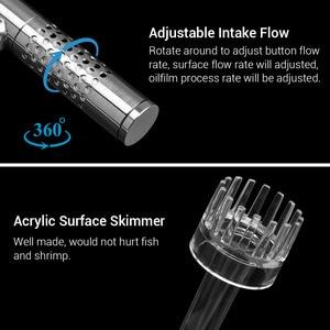 Image 2 - NICREW tubería de lirio para acuario con espumadera de superficie, acero inoxidable, para filtro de Acuario, filtro de tanque de peces plantados