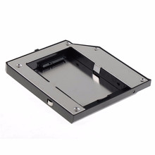 New Second SATA Onerous Drive Disk Hdd Enclosure Adapter Cowl Case Bay Caddy Onerous Disk Esterno Match For LENOVO Thinkpad T420 T520
