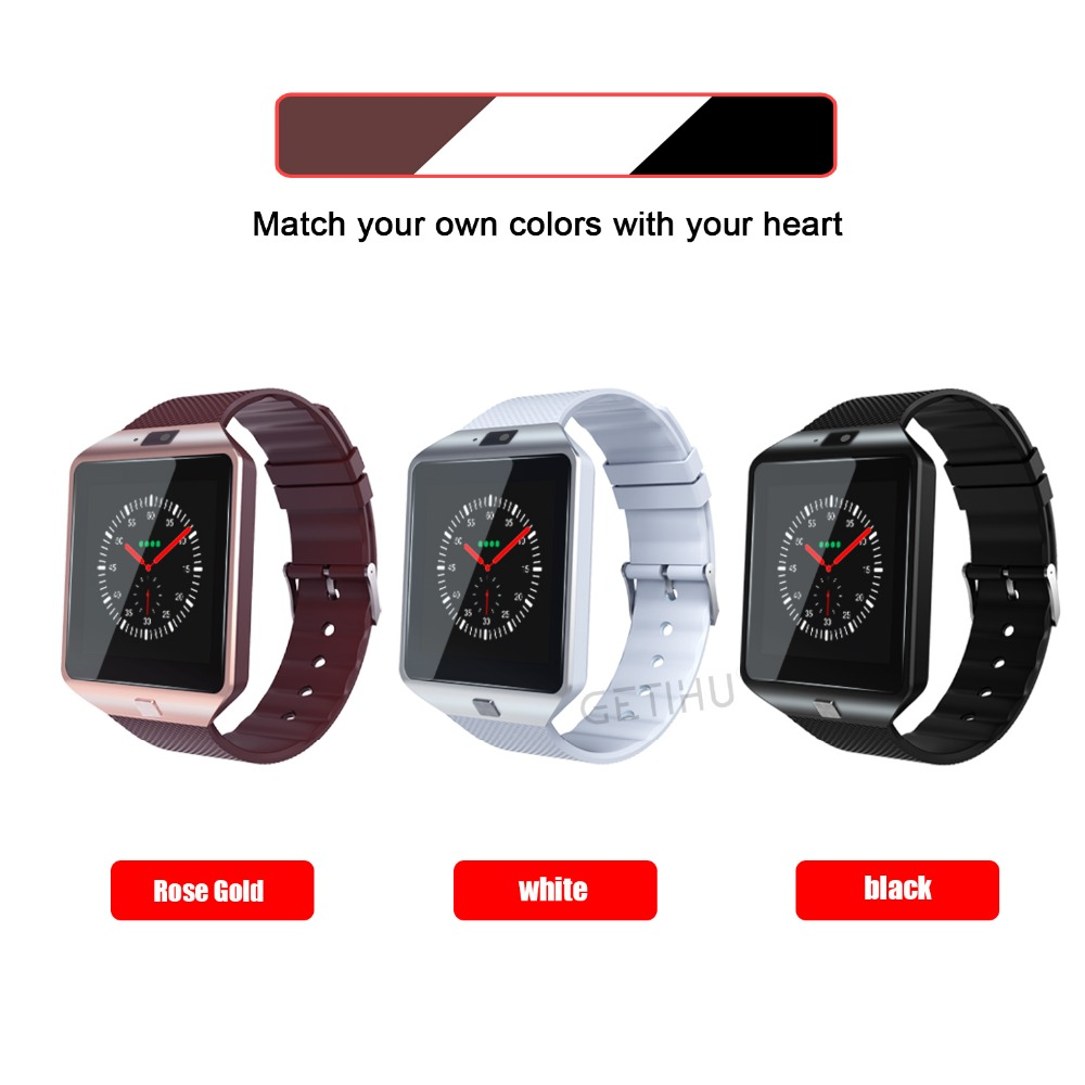 Smart Watch Bluetooth Watches SIM Sport Smartwatch ios Camera For Apple iPhone Android Phone Xiaomi 2