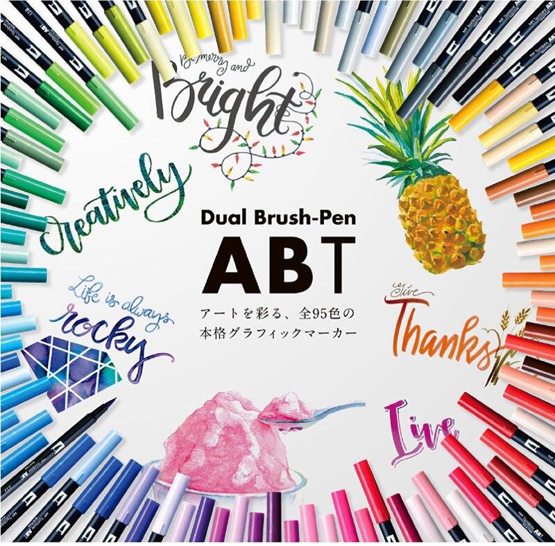 Marcador CalligraphyArt Profissional para Bala Journaling Fazer Do Cartão
