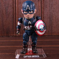 Avengers 2 Age of Ultron Egg Attack Action Captain America Action Figure Marvel EAA 011 6 Inch Beast Kingdom PVC Model Toy