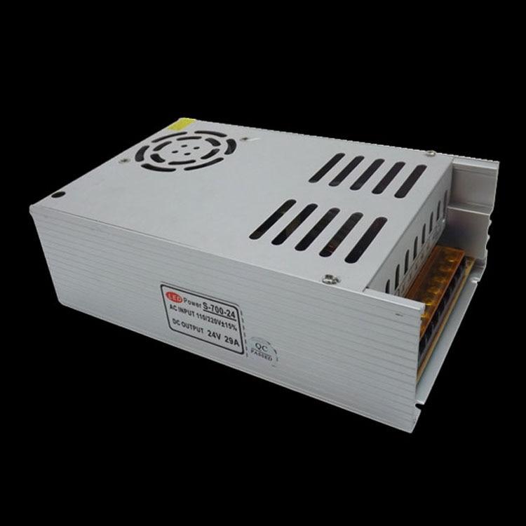 New Design switching power supply 700w 24V 29A LED Driver transformer ac110 220V For Strip light ac 85v 265v to 20 38v 600ma power supply driver adapter for led light lamp