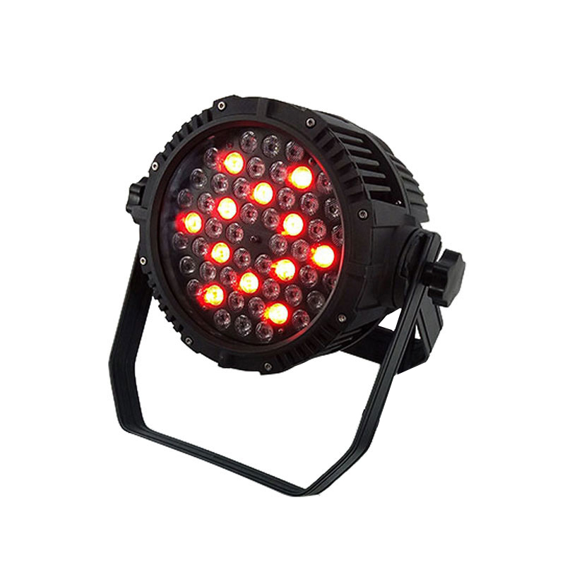 Newest Outdoor LED Par 54x3W RGBW Lighting LED Projector IP65 DMX Waterproof Professional Stage Lighting Dj Disco Party Lights