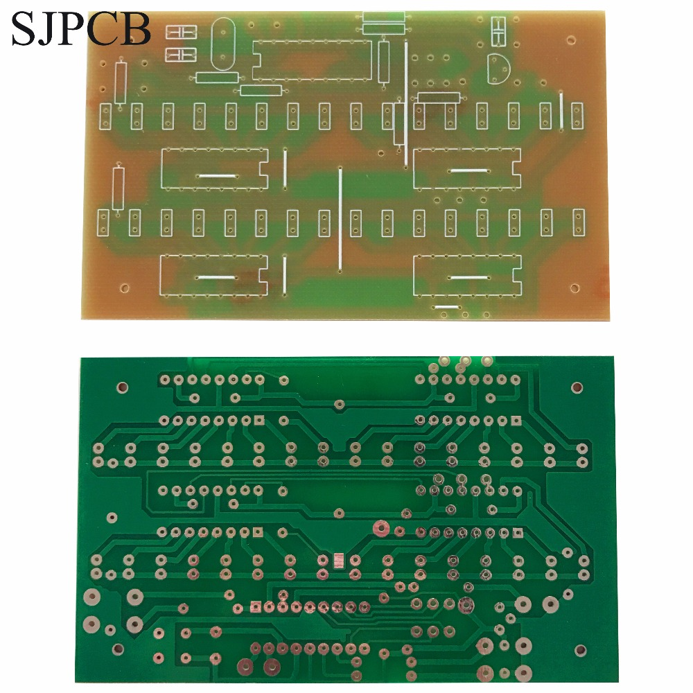 Sjpcb Hasl Single Side 1 Layer Printed Circuit Board Not Plated Hole What Is The Name Of Prototype Simple Low Cost