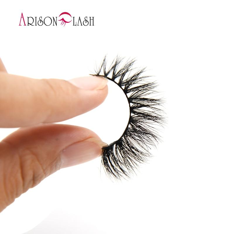 559613a3165 US stock Arimika Handmade Soft Natural looking 3D Mink False Eyelashes For Makeup  1 Pair Pack wholesale lashes 011