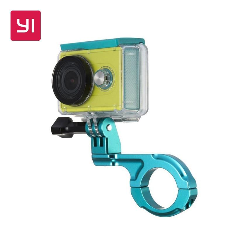 YI Bike Mount For YI Action Camera Green <font><b>Handlebar</b></font> For Sports Camera YI Official Store